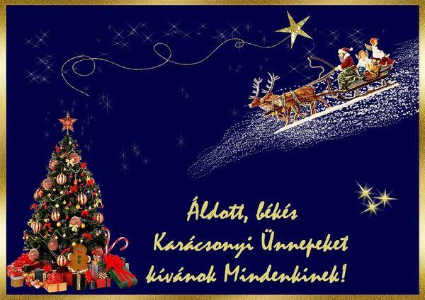 Boldog Karácsonyt kívánok Mindenkinek!