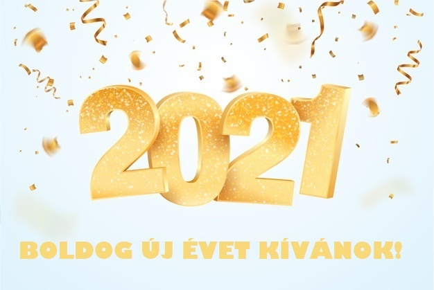 Sikerekben, bőségben gazdag Új Esztendőt kívánok Mindenkinek!